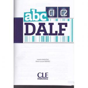 کتاب ABC DALF C1C2
