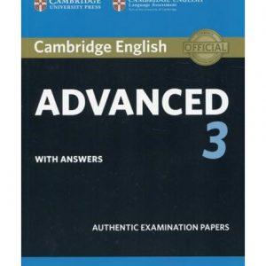 کتاب Advanced 3