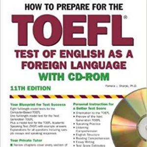 کتاب Barron's How to prepare for TOEFL
