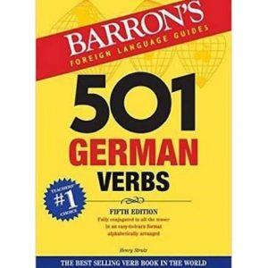 کتاب Barron's 501 German Verbs