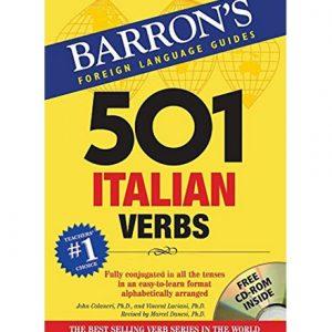 کتاب Barron's 501 Italian Verbs