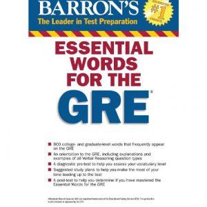 کتاب Barrons 800 Essential Words for GRE