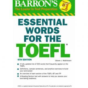 کتاب Barron's Essential Words for the TOEFL