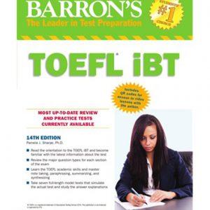 کتاب Barron's TOEFL iBT 15th Edition