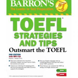 کتاب Barron's TOEFL Strategies and Tips