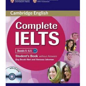 کتاب Cambridge Complete IELTS Bands 5-6.5