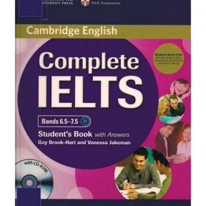 کتاب Cambridge Complete IELTS Bands 6.5-7.5