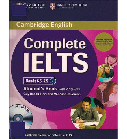 کتاب Cambridge Complete IELTS Bands 6.5-7.5