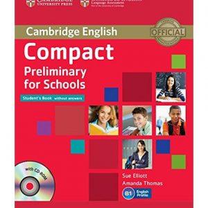 کتاب Cambridge English Compact Preliminary For Schools