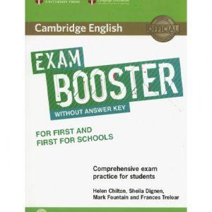 کتاب Cambridge English Exam Booster 2017