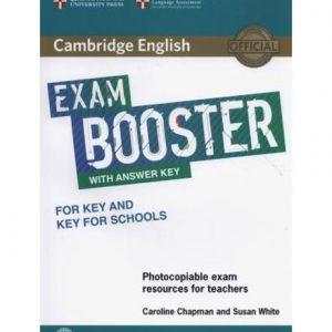 کتاب Cambridge English Exam Booster with answers (for FCE) 2017