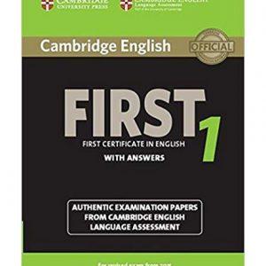 کتاب Cambridge English First 1 with Answers 2014