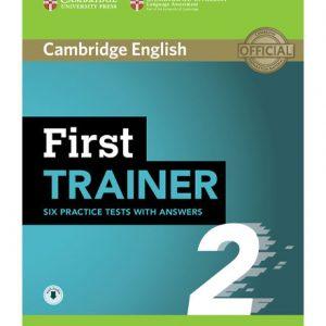 کتاب Cambridge English First Trainer 2_2018
