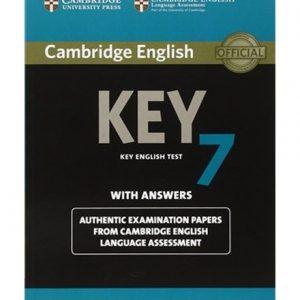 کتاب Cambridge English Key 7 Test With Answers