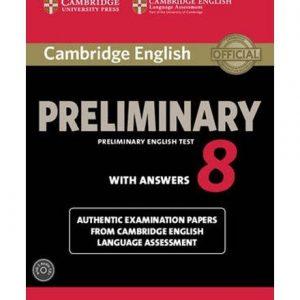 کتاب Cambridge English Preliminary English Test 8