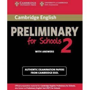 کتاب Cambridge English Preliminary for Schools