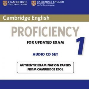 کتاب Cambridge English Proficiency CPE 1