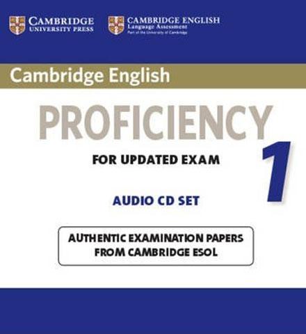 کتاب Cambridge English Proficiency CPE 1