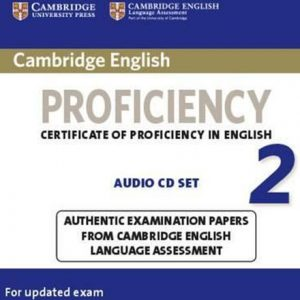 کتاب Cambridge English Proficiency (CPE) 2