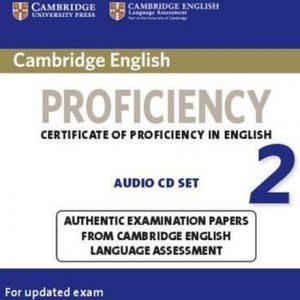 کتاب Cambridge English Proficiency (CPE) 2