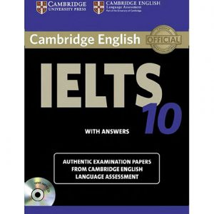 کتاب Cambridge IELTS 10