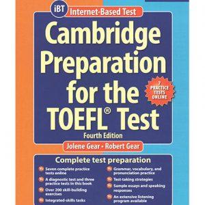کتاب Cambridge Preparation for TOEFL