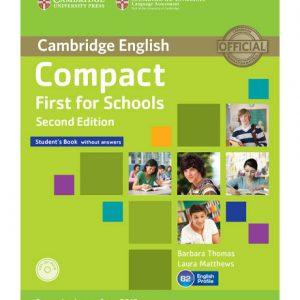 کتاب Compact First for Schools Students Book 2014