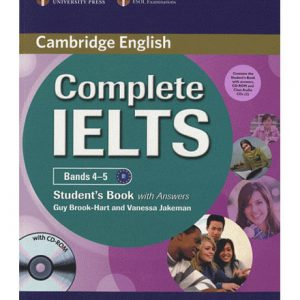 کتاب Cambridge Complete IELTS Bands 4-5