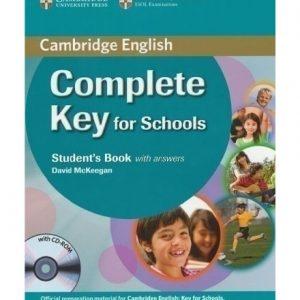 کتاب Complete Key for Schools 2014
