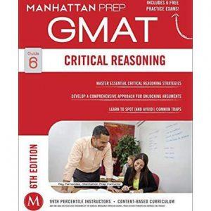 کتاب Critical Reasoning GMAT Strategies