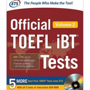 کتاب ETS Official TOEFL iBT Tests