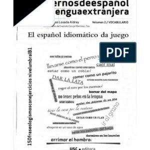 کتاب El Espaniol Idiomatico da Juego
