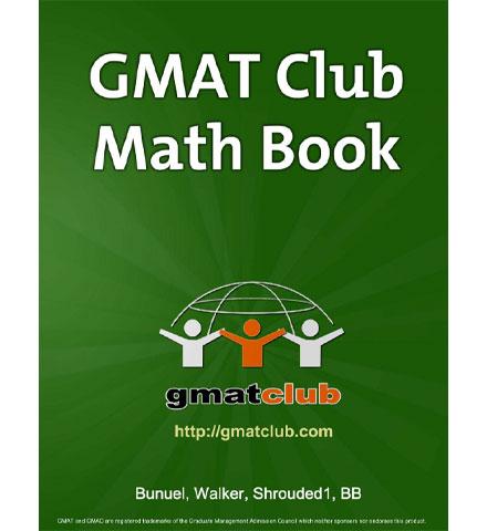 کتاب GMAT Club Math