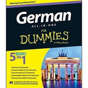 کتاب German For Dummies All in One