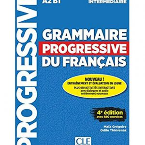 کتاب Grammaire Progressive For Teenagers Intermediate
