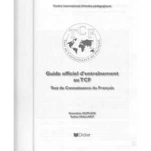 کتاب Guide d 39 entrainement au TCF