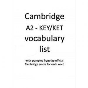 کتاب KET Vocabulary List