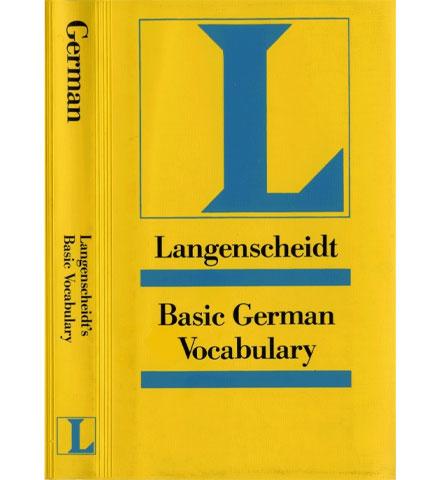 کتاب Langenscheidt Basic German Vocabulary