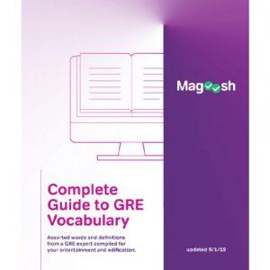 کتاب Magoosh GRE Vocabulary eBook