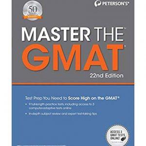 کتاب Master The GMAT