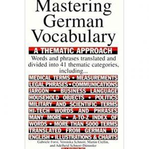 کتاب Mastering German Vocabulary