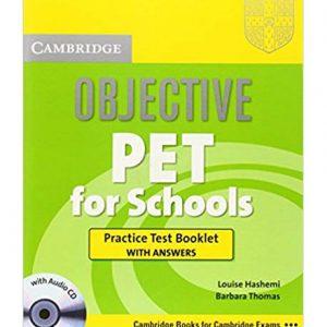 کتاب Objective PET for Schools Practice Test Booklet