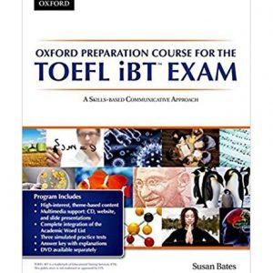 کتاب Oxford preparation course for the TOEFL iBT Exam