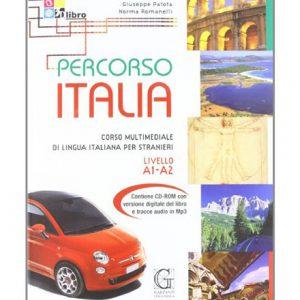 کتاب آموزش زبان ایتالیایی Percorso Italia A1-A2