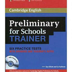 کتاب Preliminary for Schools Trainer