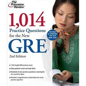 کتاب Princetons 1014 Practice Questions for the New GRE