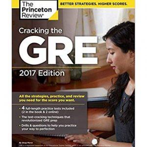 کتاب Princetons Cracking the GRE 2017 Edition