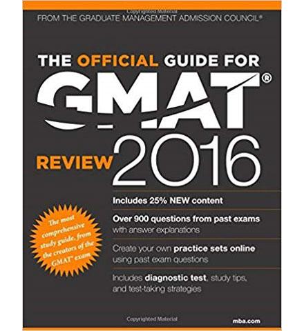 کتاب The GMAT Official Guide