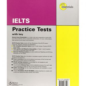 کتاب Thomson exam essentials IELTS Practice