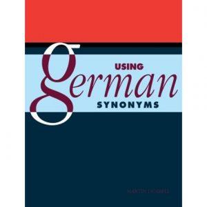 کتاب Using German Synonyms